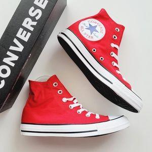 Converse CTAS Hi Enamel Red/White/Black